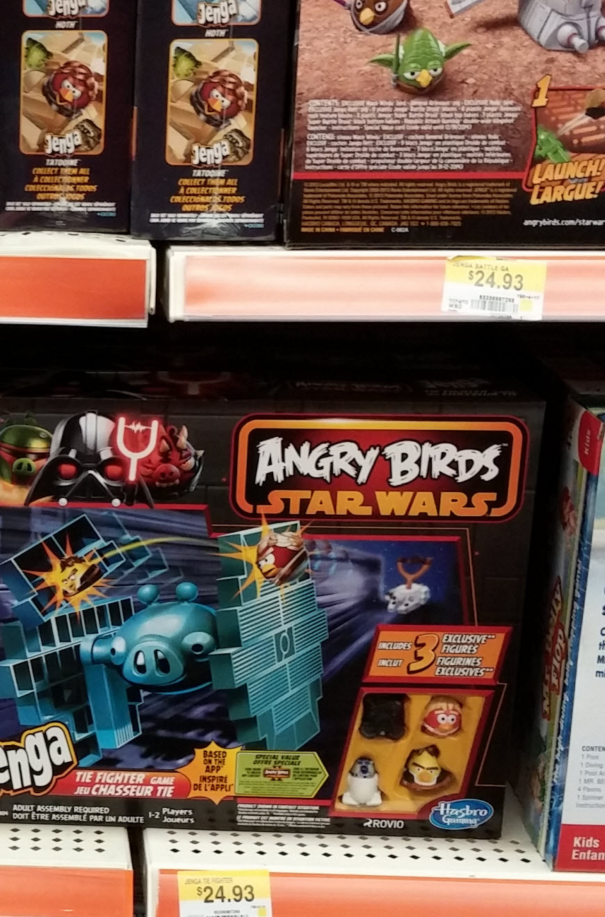 What person doesn't like Angry Birds Star Wars? Fun for everyone in the family! :) #shop