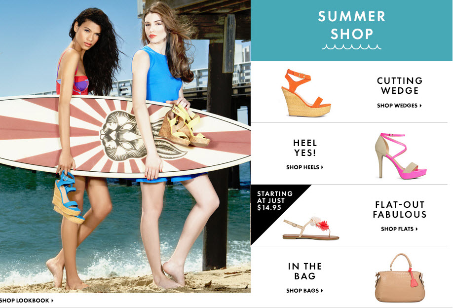 JustFab.ca Sumer Shop Lookbook