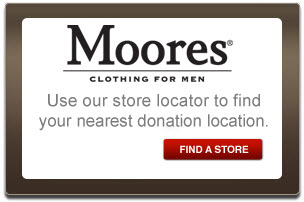 Find your closest Moores location to donate.