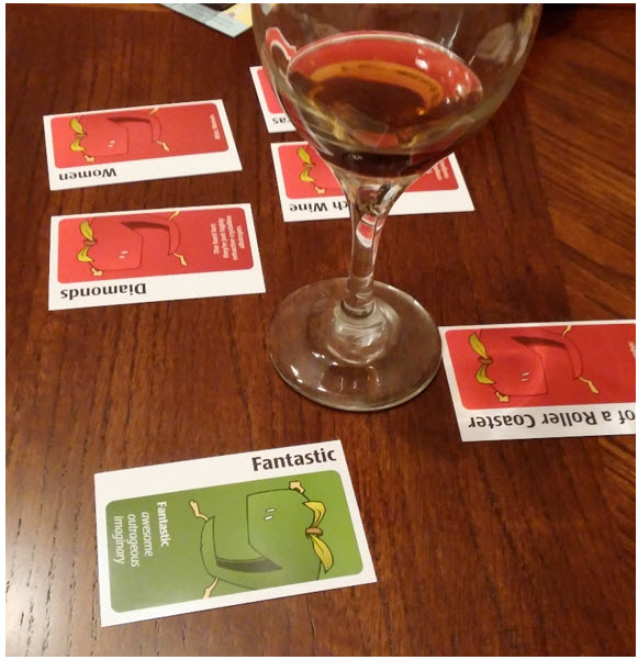 Fantastic Moskato Life (played in Apples to Apples)