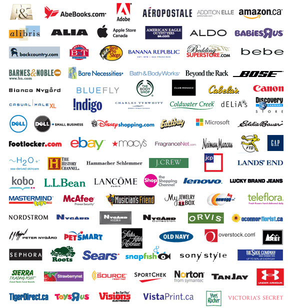 All companies that give Air Miles online.