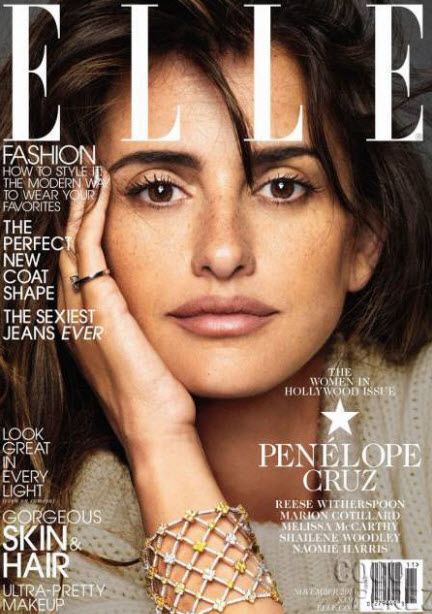 Penelope Cruz, ELLE November 2013