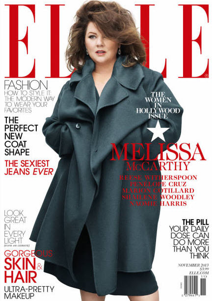 ELLE Women of Hollywood November 2013: Melissa McCarthy