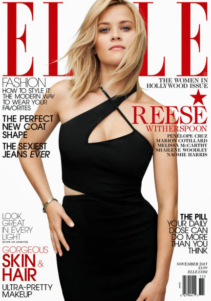 Reese Witherspoon, ELLE November 2013