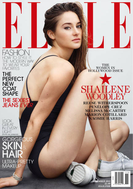 Shailene Woodley, ELLE November 2013