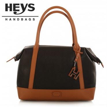 Heys Nottingham Handbag: Colour Blocked Satchel