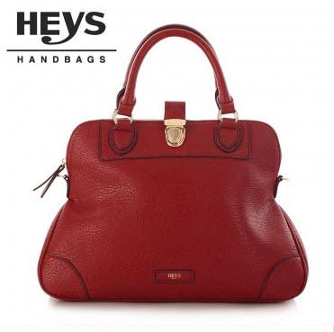 Heys Nottingham Handbag: Doctor's Red