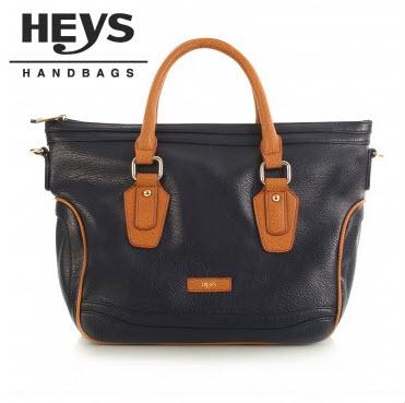 Heys Nottingham Handbag: Tote with Piping