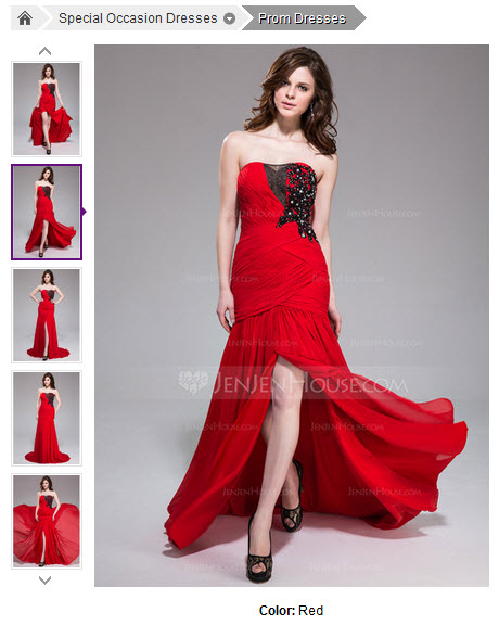 Mermaid Sweetheart Sweep Train Chiffon Tulle Prom Dress With Ruffle Lace Beading Sequins #007040794